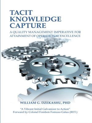 cover image of Tacit Knowledge Capture