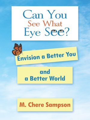 cover image of Can You See What Eye See?