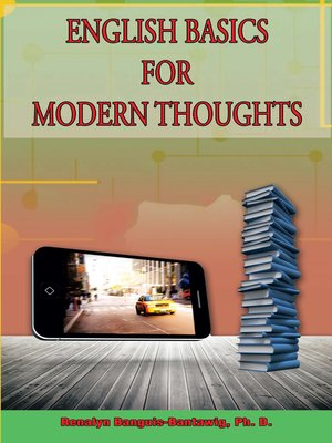 cover image of English Basics for Modern Thoughts