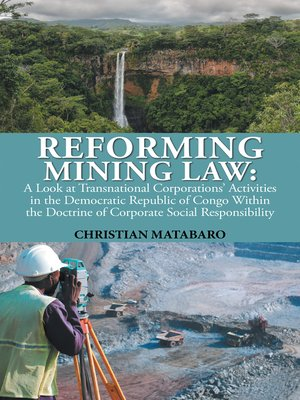 cover image of Reforming Mining Law