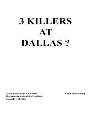 cover image of 3 Killers at Dallas
