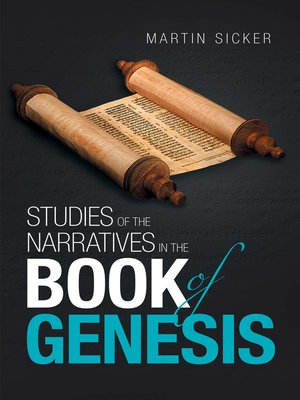 cover image of Studies of the Narratives in the Book of Genesis