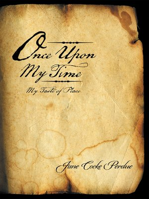 cover image of Once Upon My Time