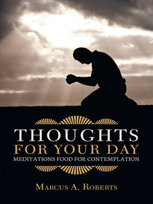 cover image of Thoughts for Your Day