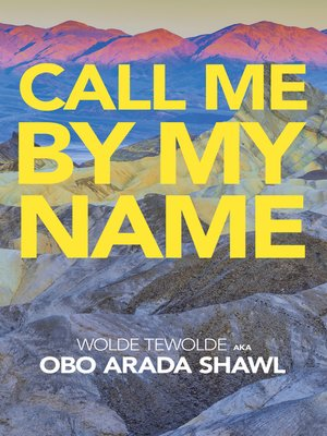 cover image of Call Me by My Name