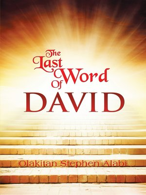 cover image of The Last Words of David
