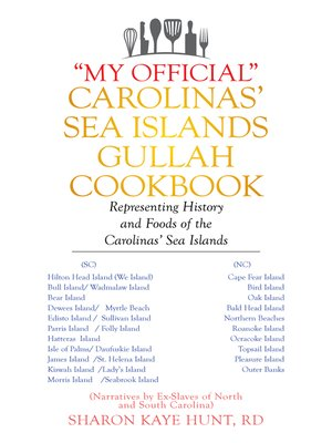 "cover image of ""My Official"" Carolinas' Sea Islands Gullah Cookbook"