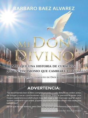 cover image of Mi Don Divino