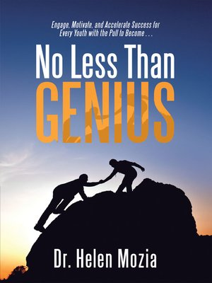 cover image of No Less Than Genius