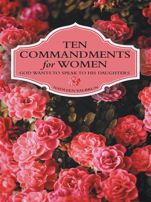 cover image of Ten Commandments for Women