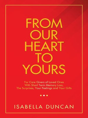 cover image of From Our Heart to Yours