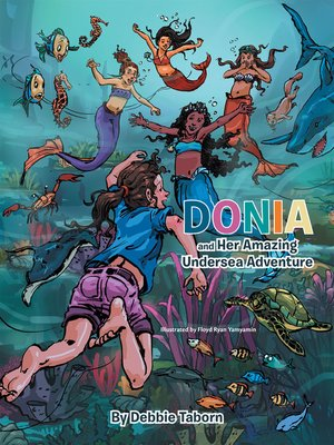 cover image of Donia and Her Amazing Undersea Adventure