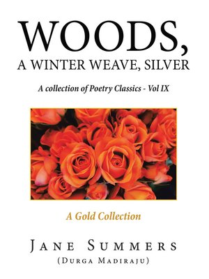 cover image of Woods, a Winter Weave, Silver