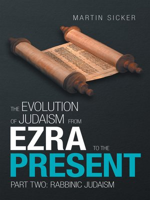 cover image of The Evolution of Judaism from Ezra to the Present