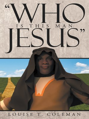 """cover image of """"Who Is This Man Jesus"""""""