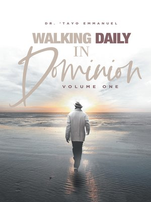 cover image of Walking Daily in Dominion