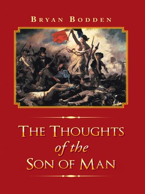 cover image of The Thoughts of the Son of Man