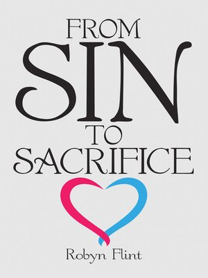 cover image of From Sin to Sacrifice
