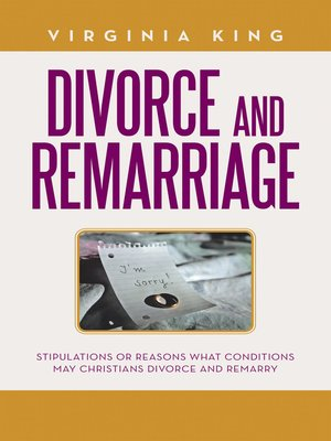 cover image of Divorce and Remarriage
