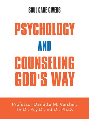 cover image of Psychology and Counseling God's Way