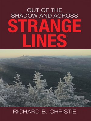 cover image of Out of the Shadow and Across Strange Lines