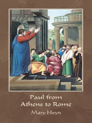 cover image of Paul from Athens to Rome