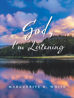cover image of God, I'm Listening