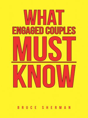 cover image of What Engaged Couples Must Know