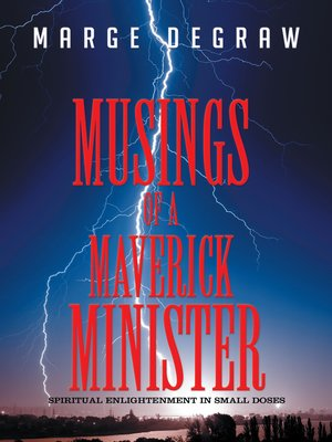 cover image of Musings of a Maverick Minister