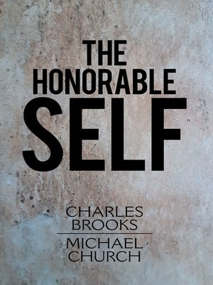 cover image of The Honorable Self