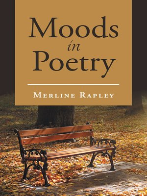 cover image of Moods in Poetry