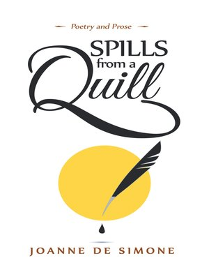 cover image of Spills from a Quill