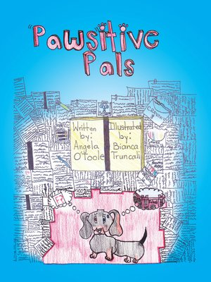 """cover image of """"Paws""""Itive Pals"""