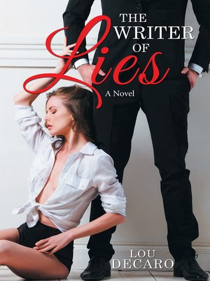 cover image of The Writer of Lies