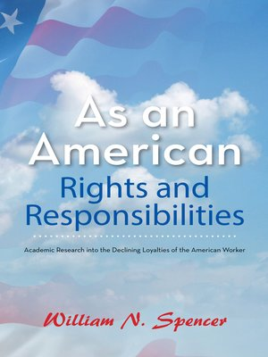 cover image of As an American Rights and Responsibilities