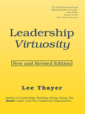 cover image of Leadership Virtuosity