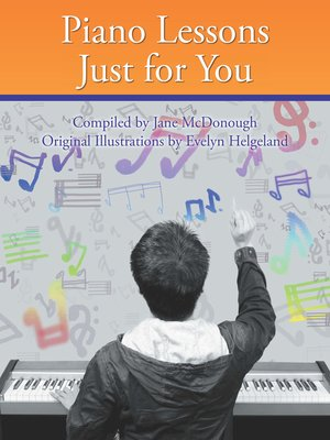 cover image of Piano Lessons Just for You