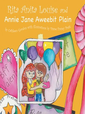 cover image of Rita Anita Louise and Annie Jane Aweebit Plain