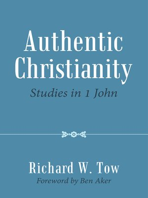 cover image of Authentic Christianity