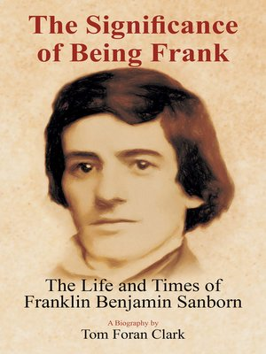 cover image of The Significance of Being Frank