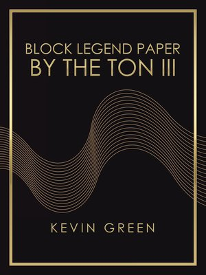 cover image of Block Legend Paper by the Ton Iii