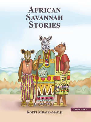cover image of African Savannah Stories