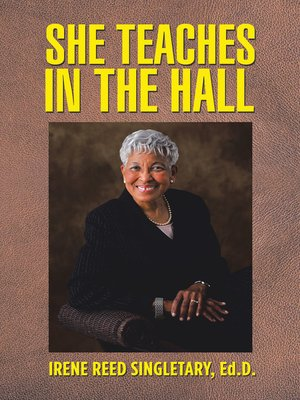 cover image of She Teaches in the Hall