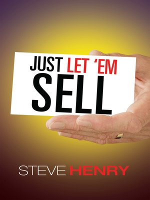 cover image of Just Let 'Em Sell
