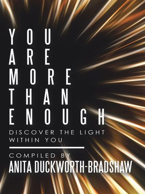 cover image of You Are More Than Enough
