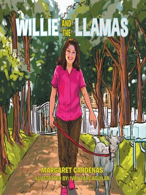 cover image of Willie and the Llamas