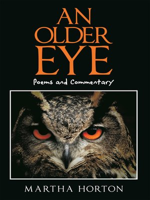 cover image of An Older Eye