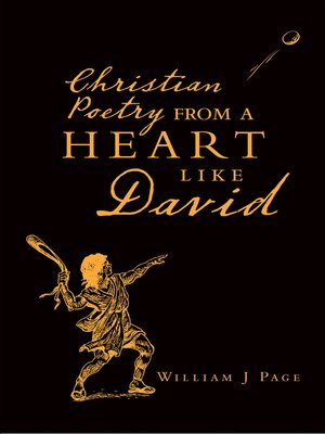 cover image of Christian Poetry from a Heart Like David