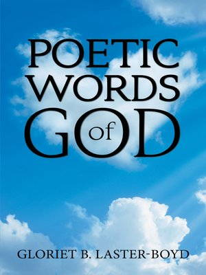 cover image of Poetic Words of God
