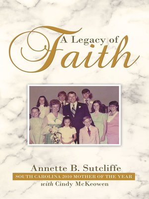 cover image of A Legacy of Faith